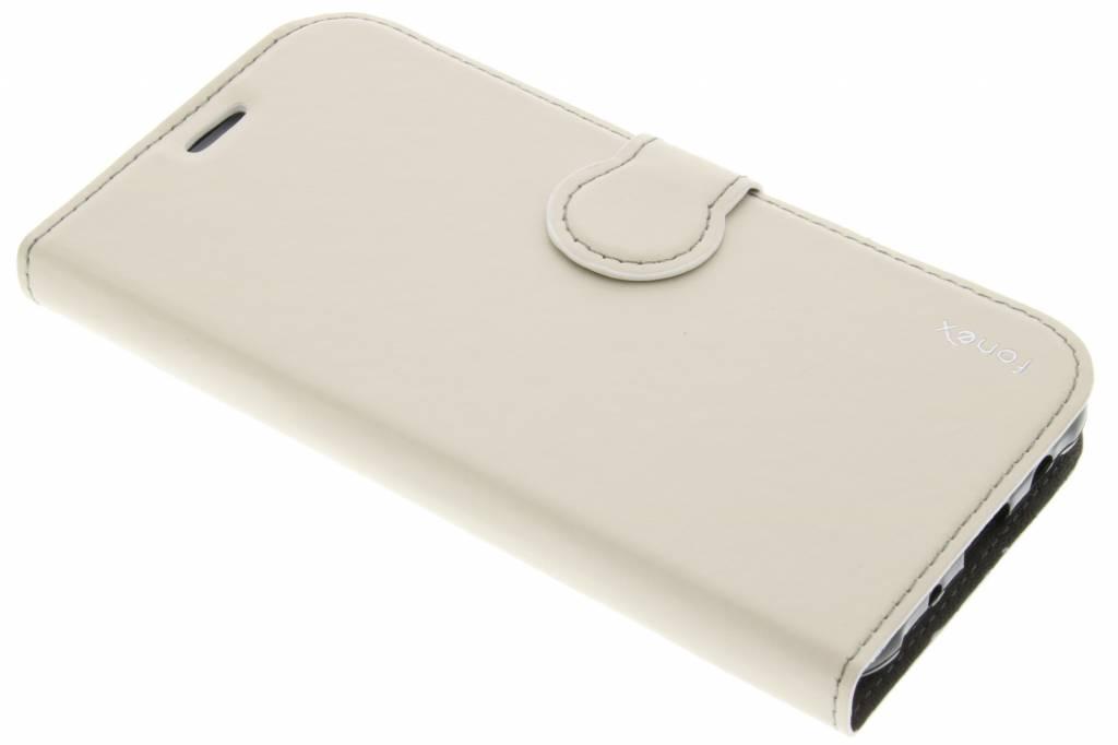 Fonex Identity Bookcase voor de Samsung Galaxy J5 - Wit