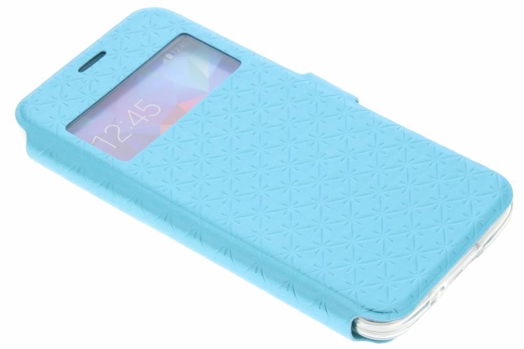 Blauw Rhombus hoesje voor de Samsung Galaxy S5 Mini