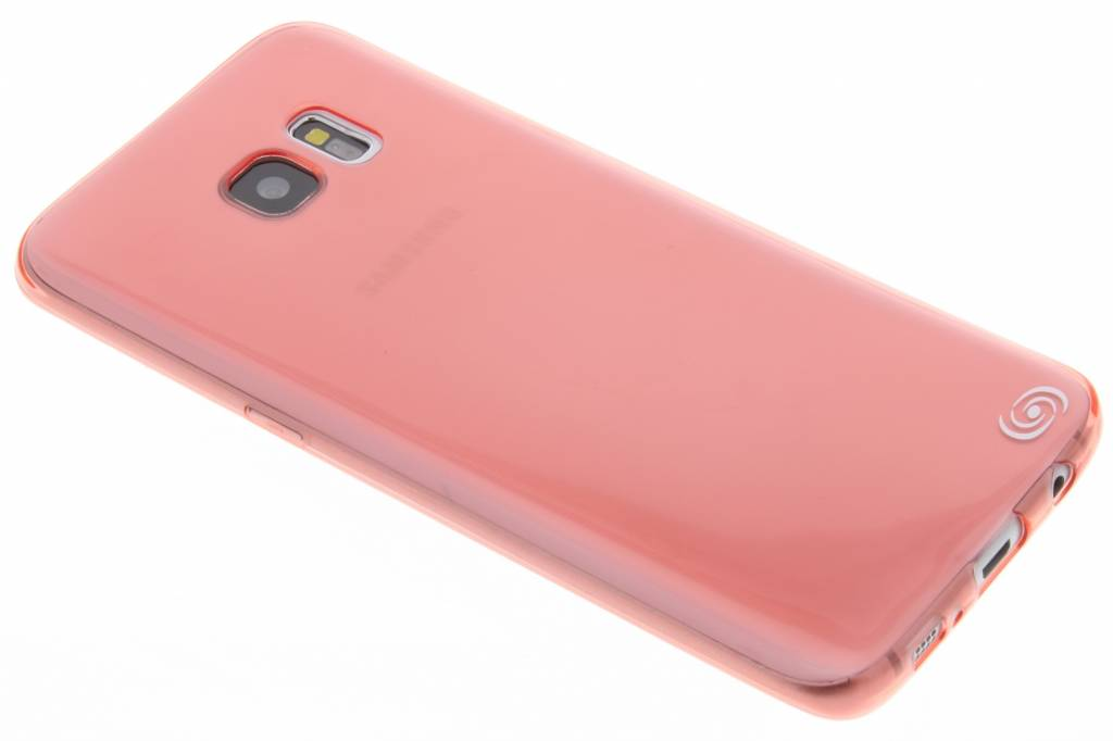 Fonex Invisible Ultra Thin Case voor Samsung Galaxy S7 Edge - Rood