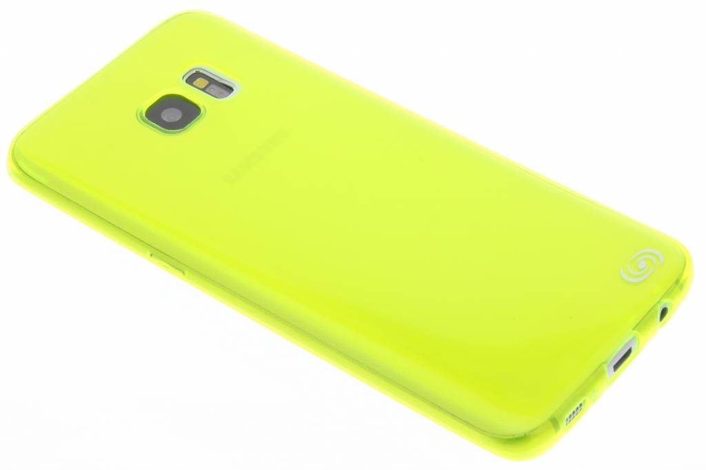 Fonex Invisible Ultra Thin Case voor Samsung Galaxy S7 Edge - Neon groen