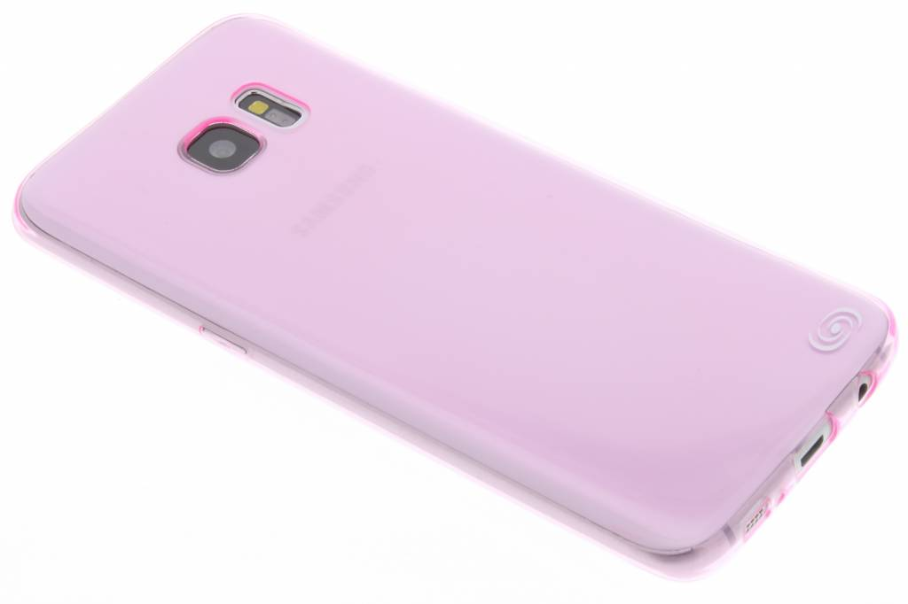 Fonex Invisible Ultra Thin Case voor Samsung Galaxy S7 Edge - Roze