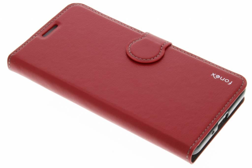 Fonex Identity Bookcase voor de Samsung Galaxy Grand Prime - Rood