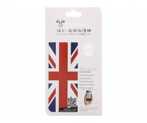 Britse vlag design screenprotector iPhone 4 / 4s