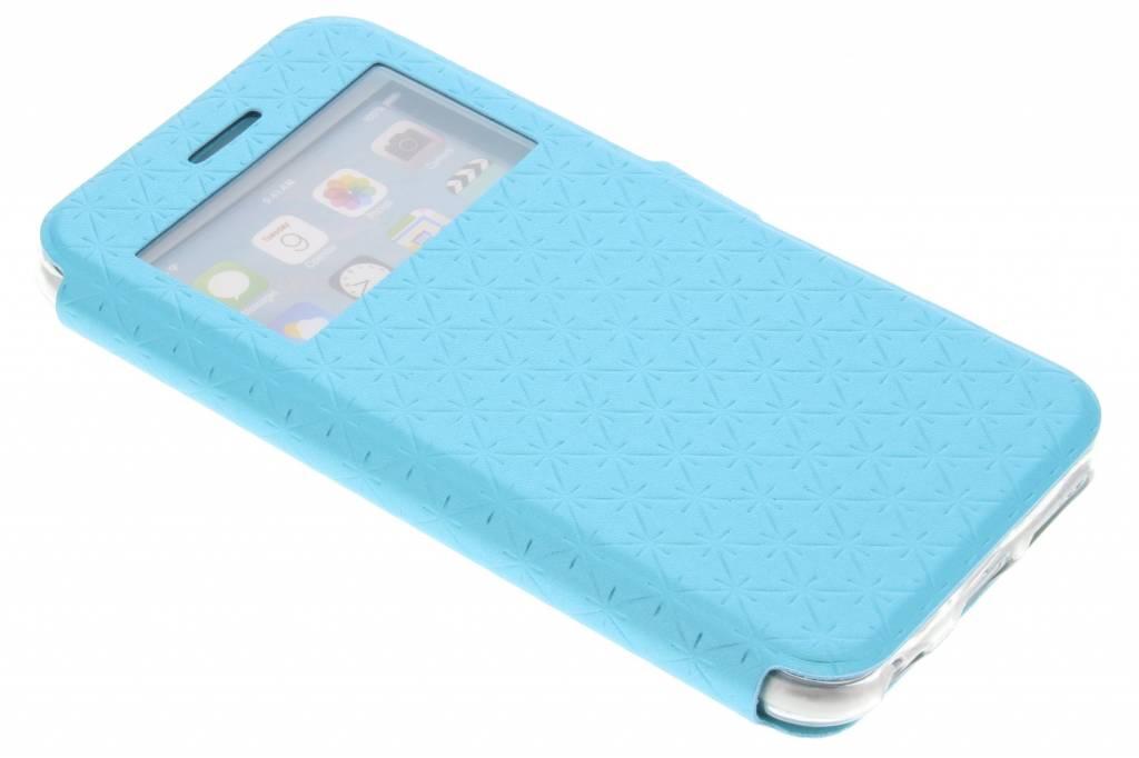 Blauw rhombus hoesje voor de iPhone 6 / 6s