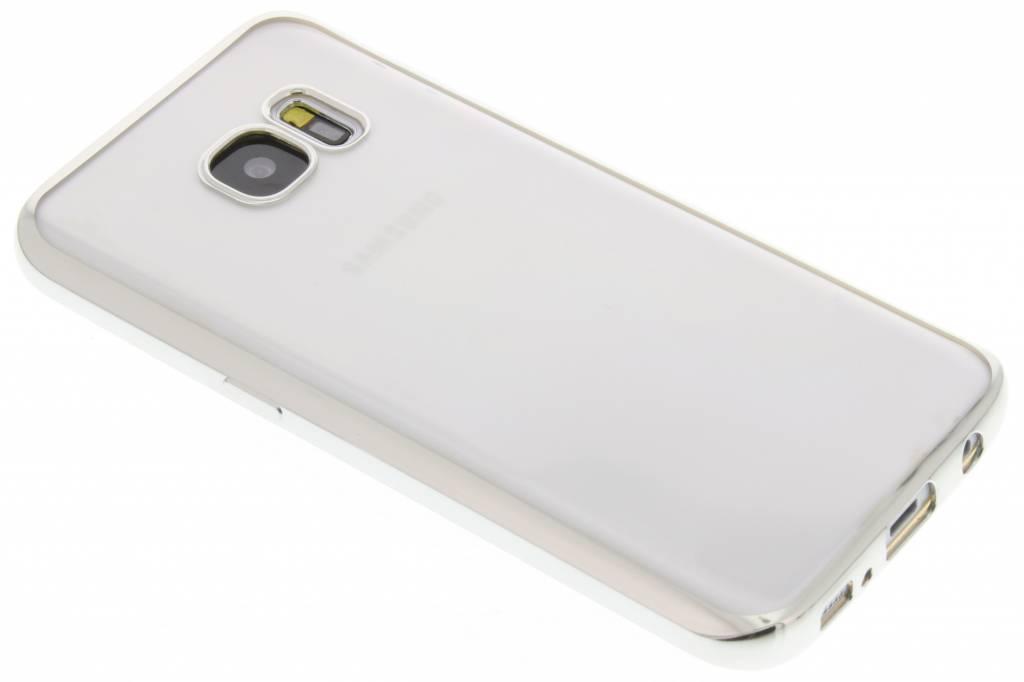 Fonex Sparkling Soft Case voor de Samsung Galaxy S7 - Zilver