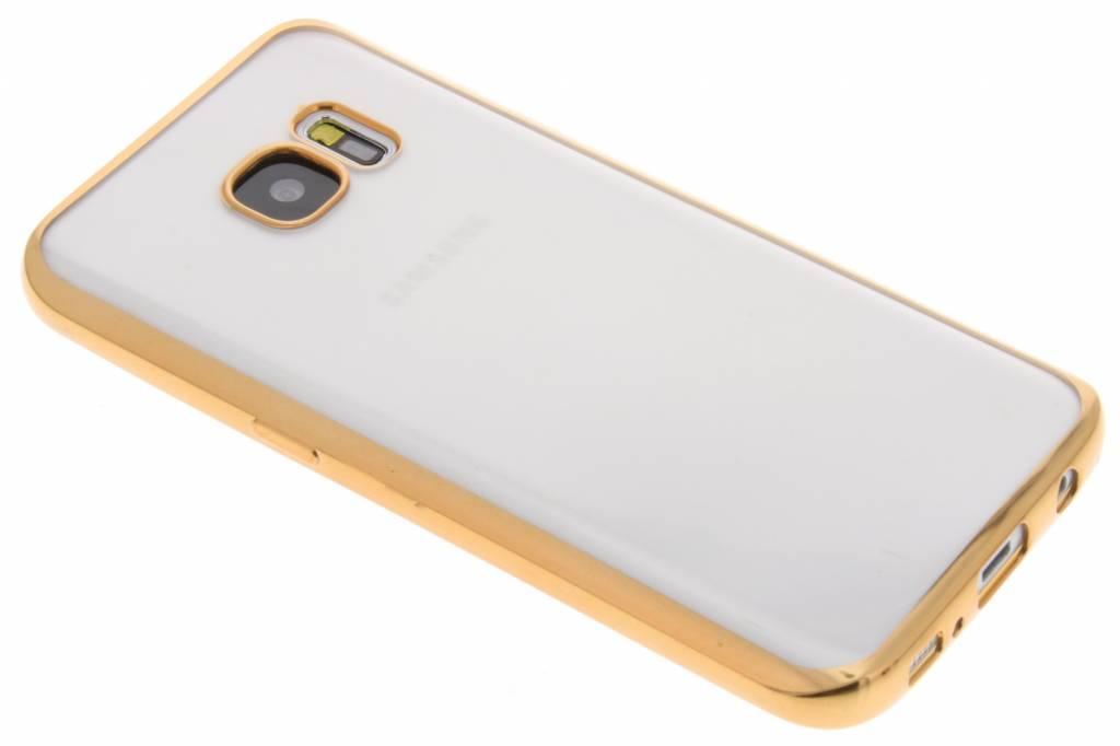Fonex Sparkling Soft Case voor de Samsung Galaxy S7 - Goud