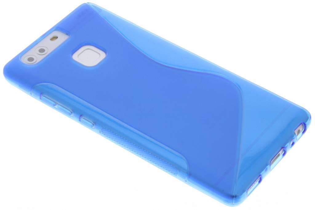 Blauw S-line TPU hoesje voor de Huawei P9