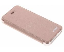 Roze crystal slim book case iPhone 5 / 5s / SE