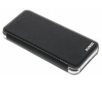 Zwart crystal stand book case iPhone 5 / 5s / SE