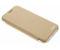 Goud crystal slim book case Samsung Galaxy J5