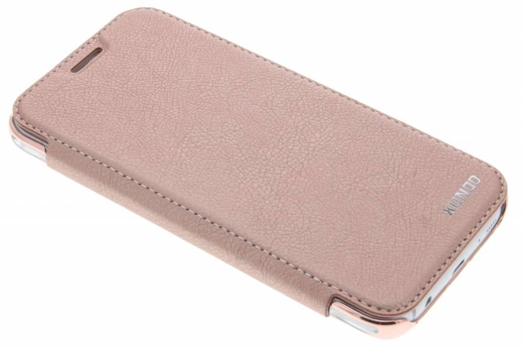 Roze crystal slim book case voor de Samsung Galaxy J5