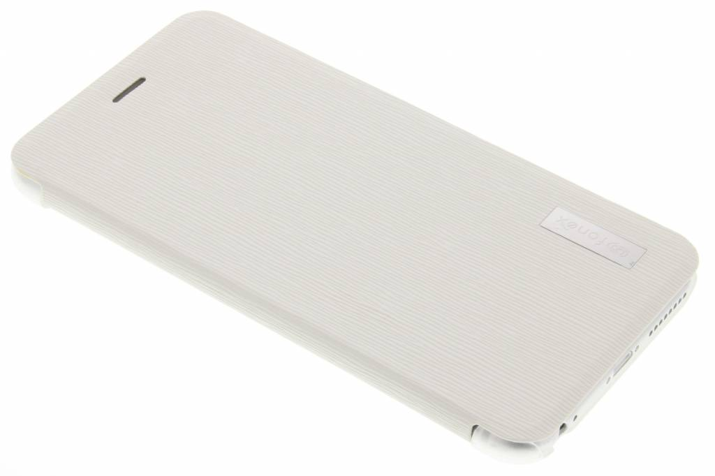 Fonex Crystal Slim Book voor de iPhone 6(s) Plus - Wit