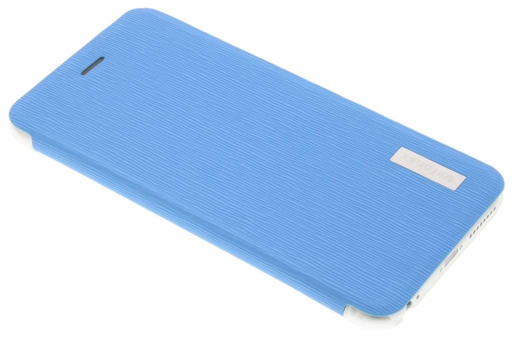 Fonex Crystal Slim Book voor de iPhone 6(s) Plus - Lichtblauw
