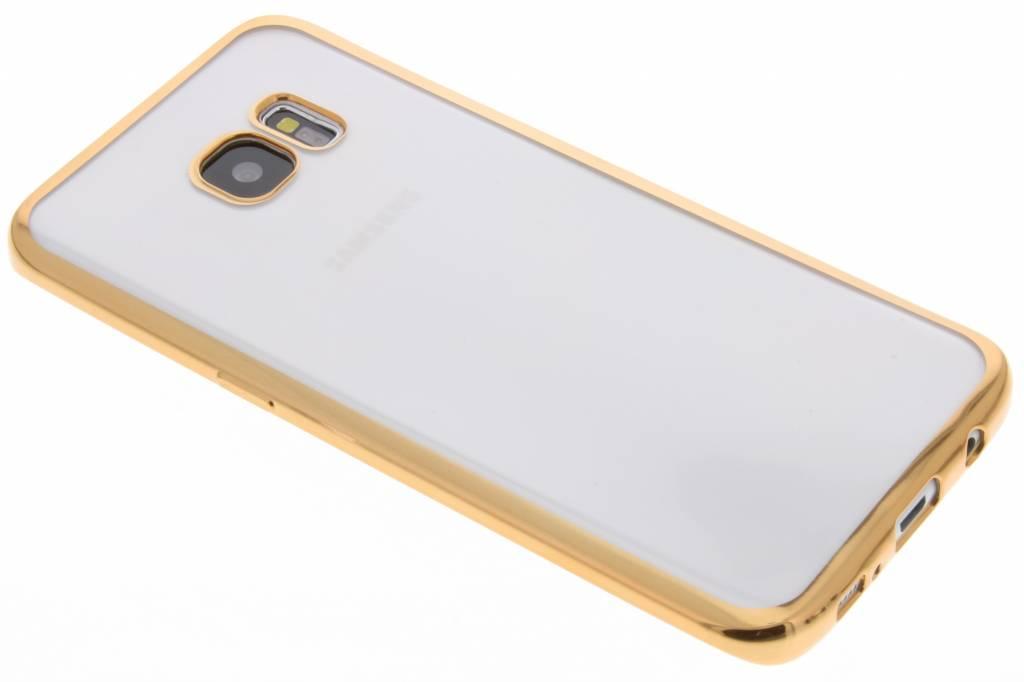 Fonex Sparkling Soft Case voor de Samsung Galaxy S7 Edge - Goud