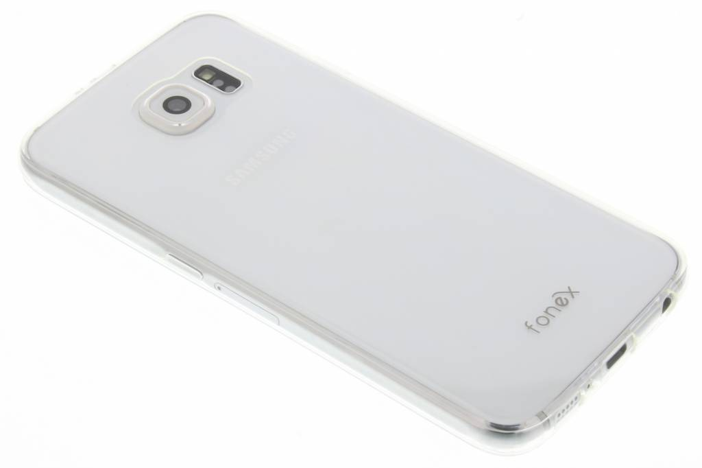 Fonex Invisible Ultra Thin Case voor de Samsung Galaxy S6 - Transparant