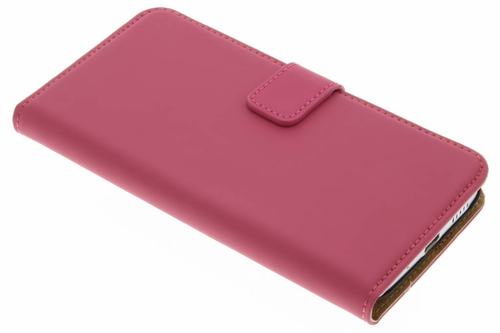 Selencia Luxe Book Case voor de HTC 10 - Fuchsia