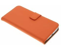 Selencia Luxe Book Case HTC 10 - Oranje