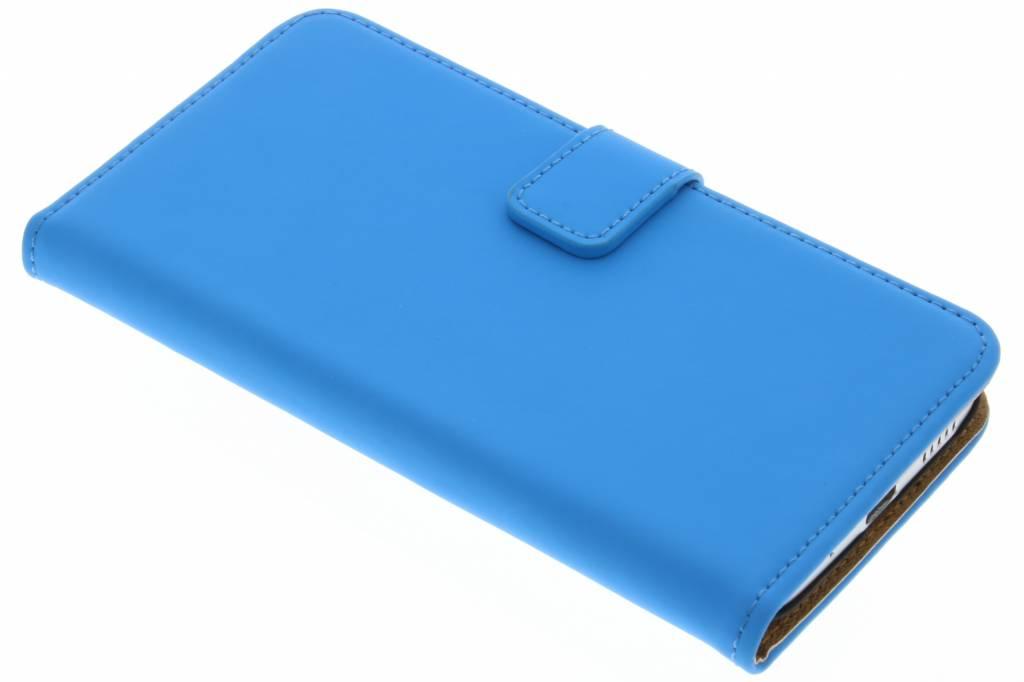 Selencia Luxe Book Case voor de HTC 10 - Blauw