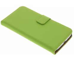 Selencia Luxe Book Case HTC 10 - Groen