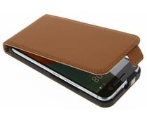 Selencia Luxe Flipcase HTC 10 - Bruin