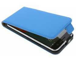 Selencia Luxe Flipcase HTC 10 - Blauw
