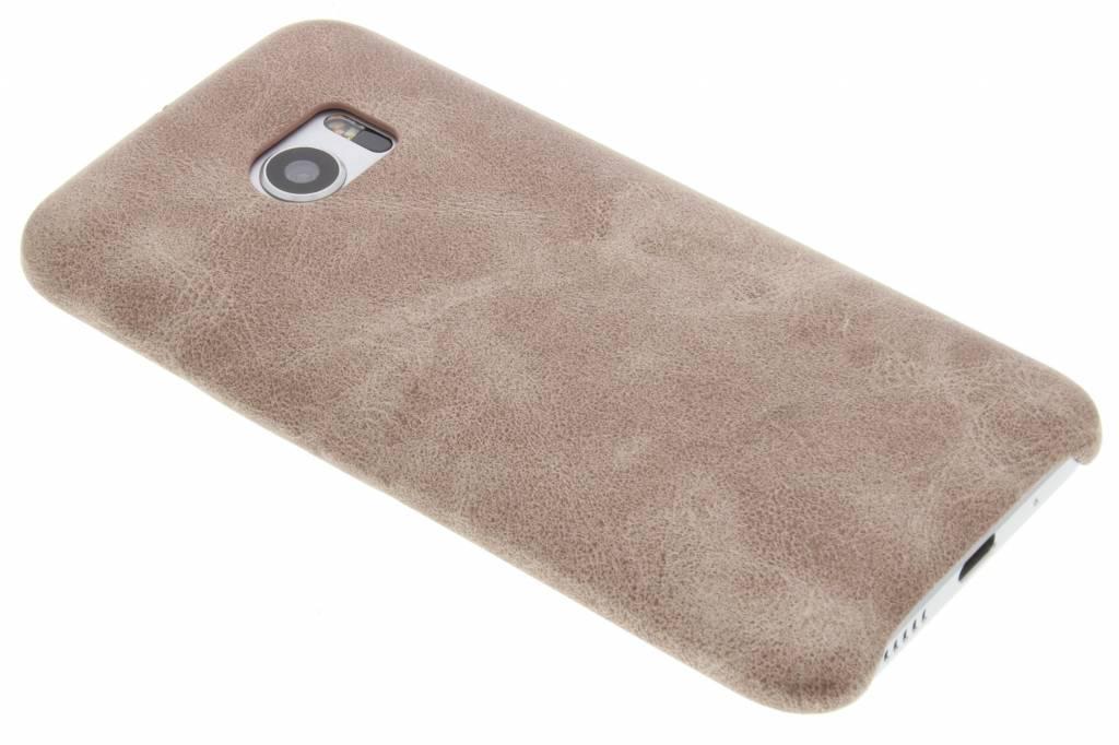 Lichtbruine TPU Leather Case voor de HTC 10