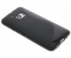 Zwart s-line TPU hoesje HTC 10