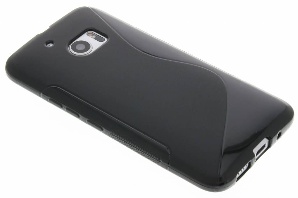 Zwarte s-line TPU hoesje voor de HTC 10