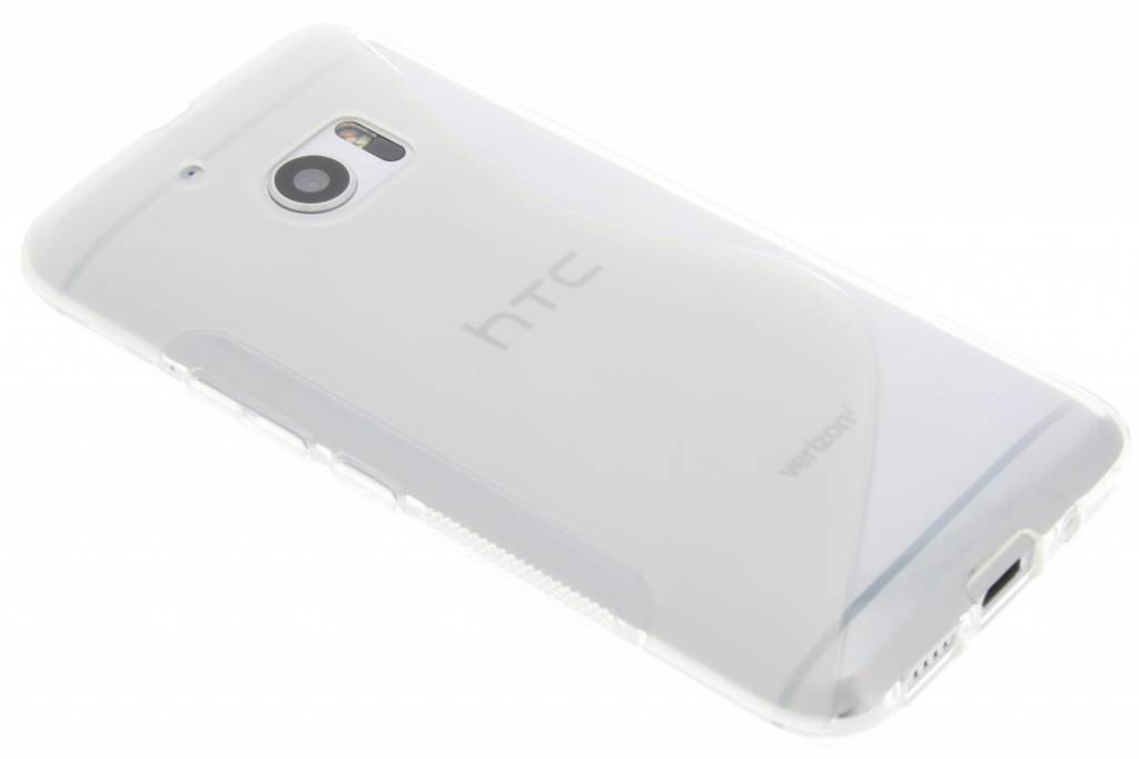 Transparant s-line TPU hoesje voor de HTC 10