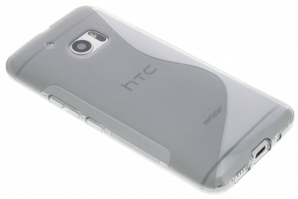 Grijs s-line TPU hoesje voor de HTC 10