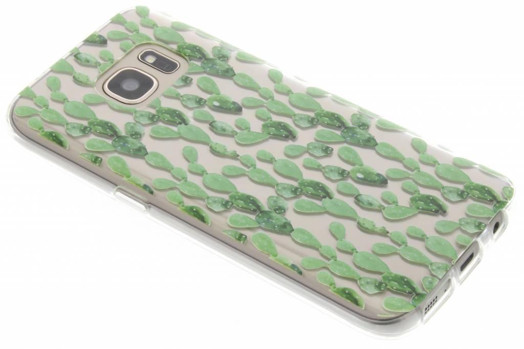 Cactus design TPU siliconen hoesje voor de Samsung Galaxy S7
