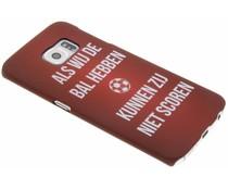 Cruijff quote hardcase hoesje Samsung Galaxy S6 Edge