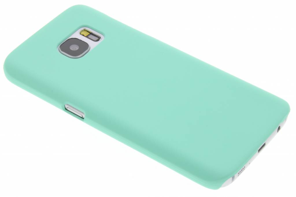 Mintgroene pastel hardcase hoesje voor de Samsung Galaxy S7