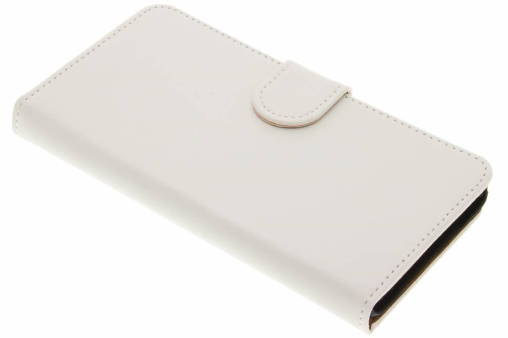 Witte effen booktype hoes voor de OnePlus X