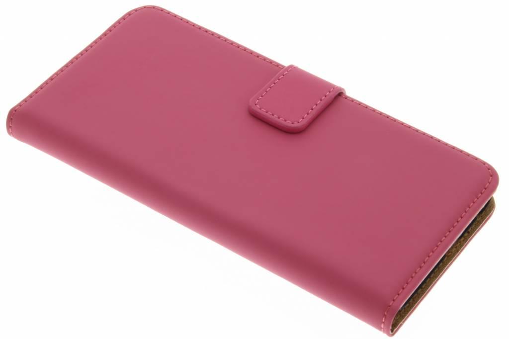 Selencia Luxe Book Case voor de HTC One A9 - Fuchsia