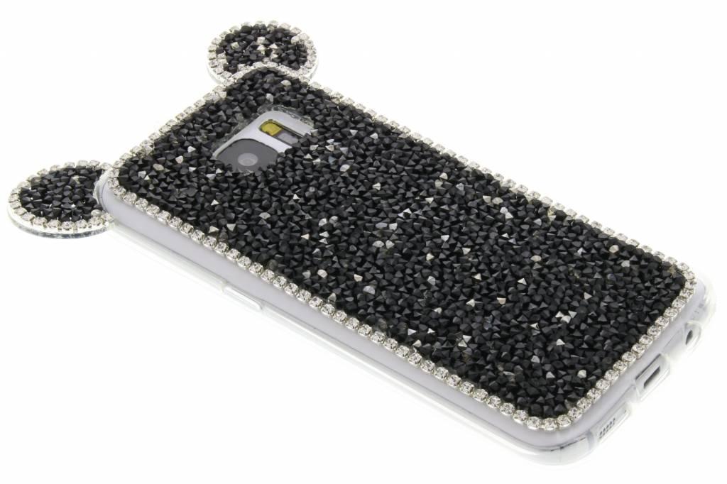 Zwart blingmuis TPU hoesje voor de Samsung Galaxy S7