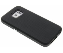 Zwart rugged case Samsung Galaxy S6