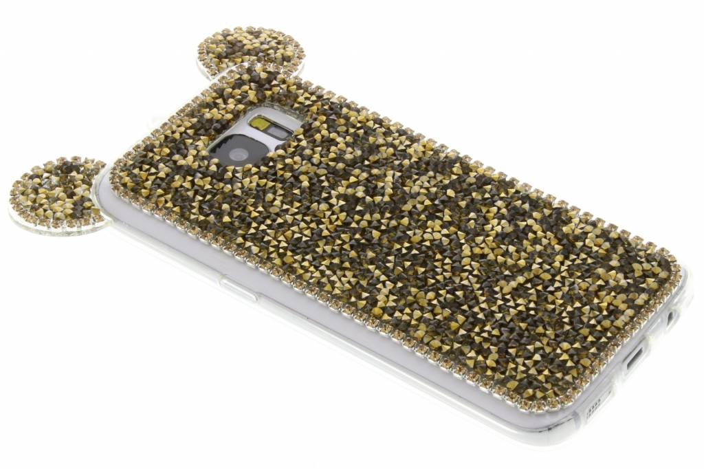 Goud blingmuis TPU hoesje voor de Samsung Galaxy S7