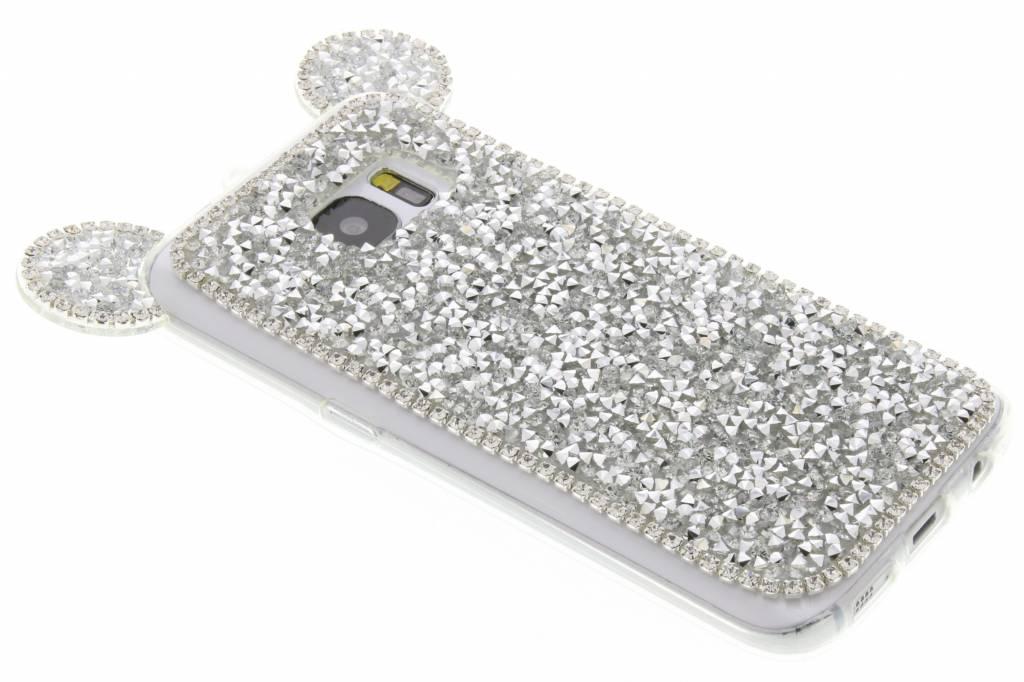 Zilver blingmuis TPU hoesje voor de Samsung Galaxy S7