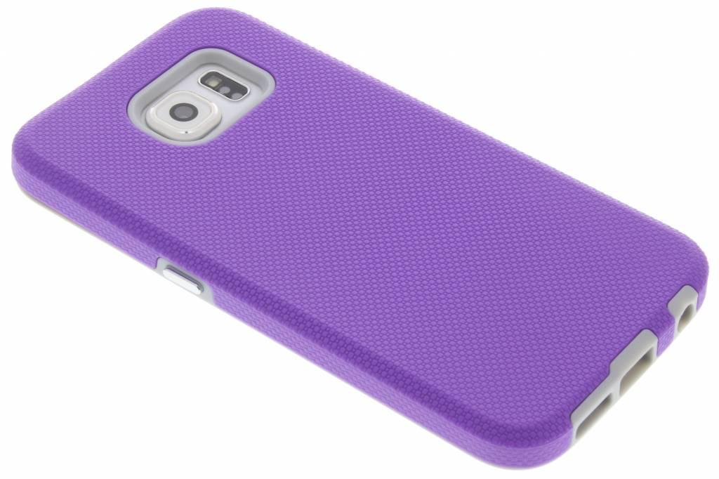 Paarse rugged case voor de Samsung Galaxy S6