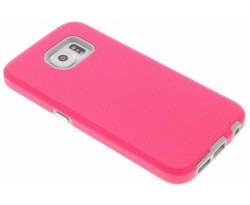 Roze rugged case Samsung Galaxy S6