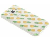 Transparant fruit design TPU hoesje Samsung Galaxy J1