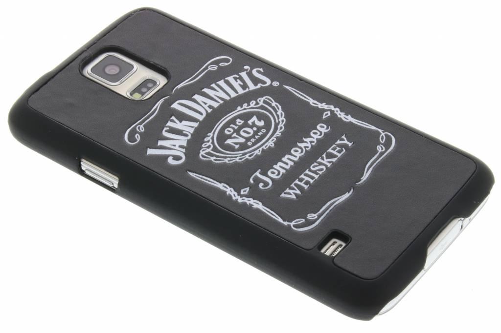 Jack Daniel's leder look hardcase hoesje voor de Samsung Galaxy S5 (Plus) / Neo