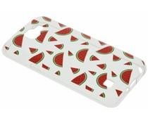 Transparant fruit design TPU hoesje LG K4