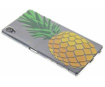 Transparant fruit design TPU hoesje Sony Xperia Z5 Premium
