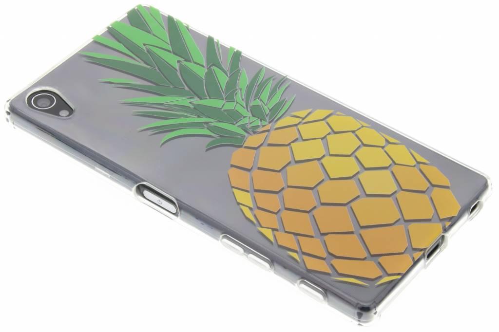Transparant ananas design TPU hoesje voor de Sony Xperia Z5 Premium