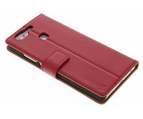 Selencia Luxe lederen Booktype Huawei P9 - Rood