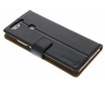 Selencia Luxe lederen Booktype Huawei P9 - Zwart