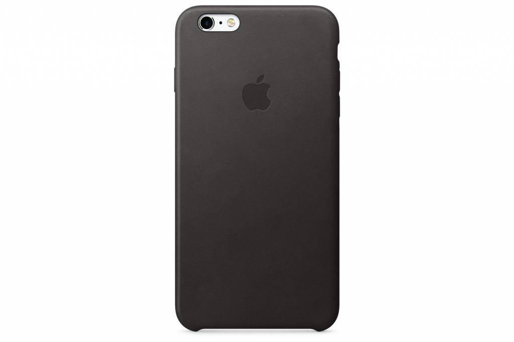 Leather Case voor de iPhone 6(s) Plus - Black