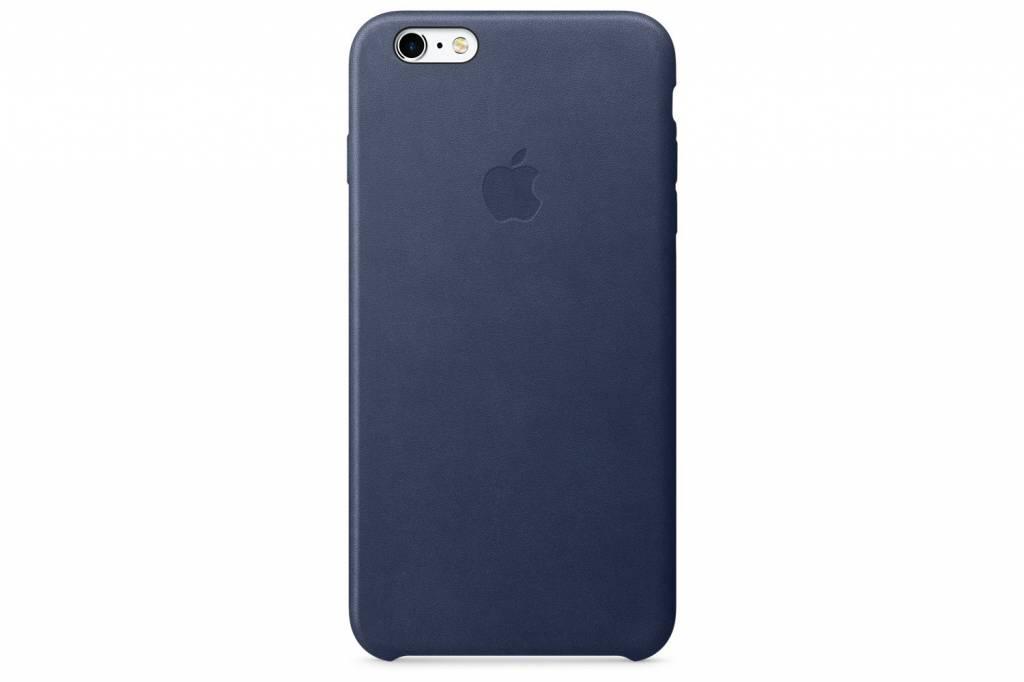 Apple Leather Case voor de iPhone 6(s) Plus - Midnight Blue